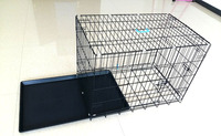 Wire mesh Pet dog cages/dog cage wholesale