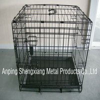 metal wire collapsible Pet dog Cage Eco-Friendly (factory)ISO14001