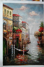 Factory Wholesale italian landscape oil painting canvas