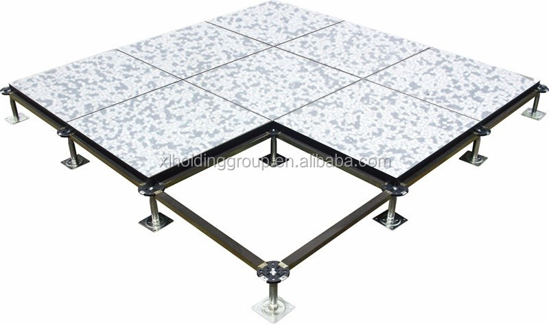 Raised Wood Flooring For Computer Rooms : Antistatic pvc wood core panel raised floor for computer