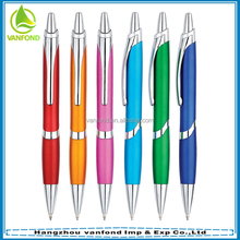 new business promotional best ballpoint pen with metal clip and matt color
