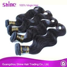 2015 Unprocessed 100% Virgin Human Hair Extension 10 inch virgin remy brazilian hair weft