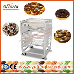 YUFENG Floor-Type Chocolate Icer Chocolate Greaser Chocolate Coating Machine Donut decorating Donut Coating