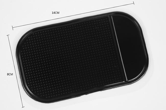 Антипробуксовочная Коврик для автомобиля очень липким skidproof чалд для проведения гаджет gps мобильный телефон