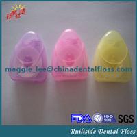 waxed dental floss fio dental hilo dental with ptfe floss spool nylon floss bobbin