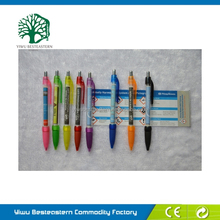 2015 Popular Flag Pen, Smile Face Cartoon Pen, Transparent Flag Ballpen
