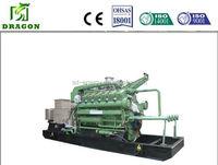 2015 Best service 1mw biogas equipment power generator set