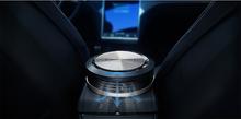 smart bluetooth car Air Purifier +ozone generator+Negative ion+CO detect