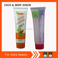 wholesale body scrub containers Guangzhou 100ml face body cleansing gel