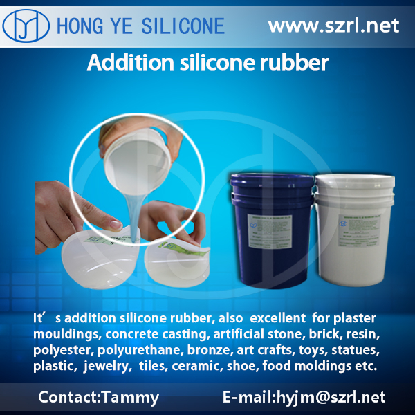 Liquid Silicone Rubber for Puppets similar to human skin