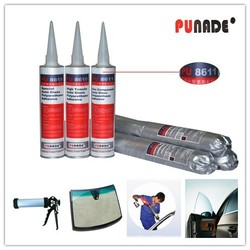 Waterproof polyurethane adhesive for auto glass/car glass and windscreen PU8611