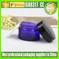 cobalt blue glass jars with screw cap