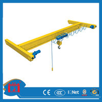 China top manufacturer single girder overhead crane
