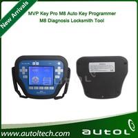 2015 New Arrivals Universal MVP Key Pro M8 Auto Key Programmer M8 Diagnosis Locksmith Tool MVP Pro M8 with 800 Tokens