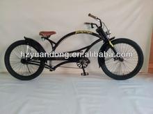 24'' customized chopper cruiser single speed beach cruiser men's bicycle bike