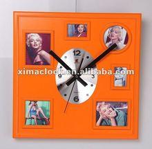 Del reloj de pared