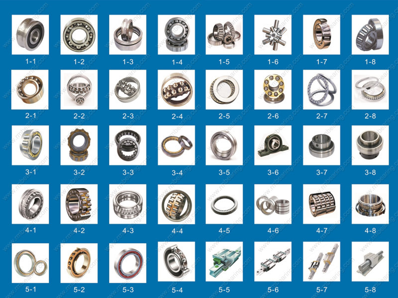 different types of bearing