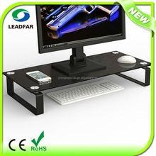 Portable elegant detachable desktop computer shelf