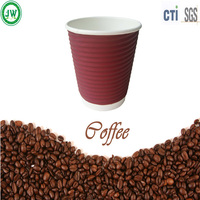 new design paper cup coffee insulated paper coffee cups cow drinking cup