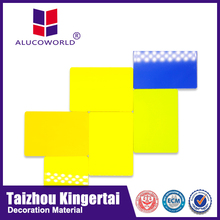 Alucoworld high grade furnishing and decorations materials acp color chart aluminum composite panel acp work