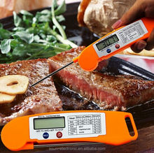 Fast Accurate Digital Folding Food BBQ Thermometer