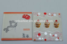Decoración hecha a mano la tarjeta de felicitación de cumpleaños tarjeta de felicitación/tarjetas de invitación