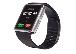 2015 New arrival GT08 smart watch with front camera