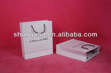 Customized luxury paper shopping bag