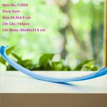 Colorful Long Handled Plastic Shoe Horn
