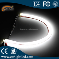 12V 45cm White High Power Led Car Daytime Running Lights Flexible LED DRL Tube for all cars