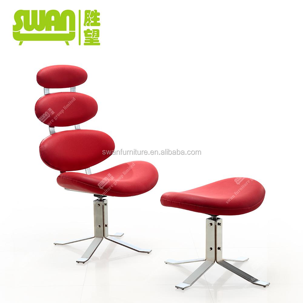 2052 corona chair replica red lounge chair with ottoman buy red lounge chair with ottoman - Corona chair replica ...