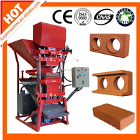 automatic clay brick machine prices Eco premium 2700 small red brick making machine clay bricks manufacturing machine