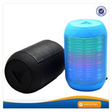 AWS1154 New Mini LED Light Multimedia MS USB Portable Speaker Bluetooth LED