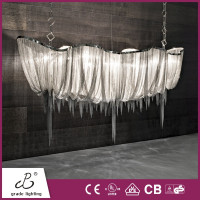 Suspended Boat Light Led Pendant Lamp Indoor Hanging Lighting for Hotel/Villa Decorative