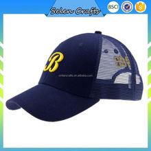 Printed Navy Men Cool Mesh Trucker Caps Personalized Baseball Caps For Summer