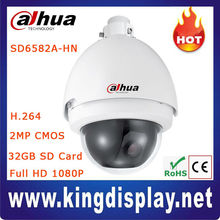 Cheap Outdoor H.264 2Megapixel Full HD 1080P CMOS Dahua IP Network PTZ Dome Surveillance Security Camera, 20x optical zoom