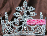 custom party silver custom cheap small princess crowns for kids