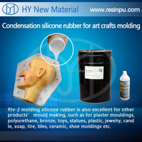 white low shrinkage mold silicone rubber