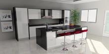 OEM Accept kitchen games with stone worktop and kitchen bar stools