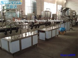 Hot sale 2000-4000bph small business plastic bottled mineral water plant cost