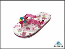 Cute EVA foam kids flip flop slippers