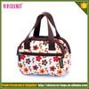 Vivisecret hot selling nylon flower hand bag mommy diaper bag