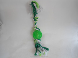 New 2015 Eco-friendly fabric dog rope toy,free samples pet travel toys products supplies