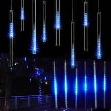 3d dmx 5050 rgb led Christmas metero colorful falling star lighting tube for light club DJ bar