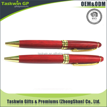 High quality wooden ball pen/business pen for promotional gift