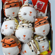 cute foldable shopping bag, tiger/cow/lion animal bag for shopping