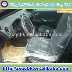 Good quality high standard universal disposable car seat cover/plastic car seat cover