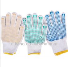 10g cotton liner grip dots cotton glove