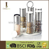 Useful/hot selling stainless steel kitchen refillable pepper and salt grinder set