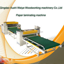 wood raw material machine scale development for paper laminating machine